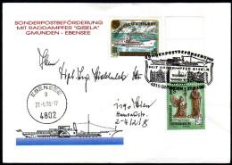 ÖSTERREICH 1995 - Sonderpostbeförderung Mit Raddampfer Gisela - Sonderausgabe - Post