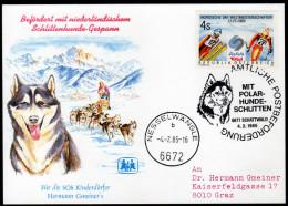 ÖSTERREICH 1985 - Postbeförderung Mit Polar Hunde Schlitten / SOS Kinderdorf - Sonderausgabe - Post