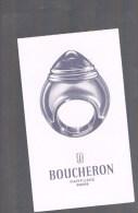 BOUCHERON . - Perfume Cards