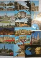 17 CART. WIEN - Cartoline