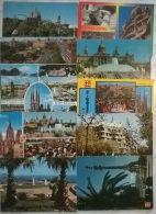 10 CART. BARCELONA - Cartoline