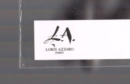 LORIS AZZARO . - Perfume Cards