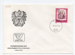 MK143 - AUSTRIA 3/6/1977 ,  N. 1379 Salisburgo - FDC