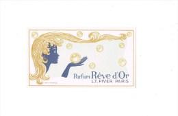 L.T.PIVER -- Parfum RÊVE D'Or . - Perfume Cards
