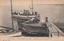 CAP FERRET - Arrivée Du Courrier D'Arcachon - Otros Municipios