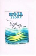 ROJA FLORE -- Vague D'Or . - Perfume Cards