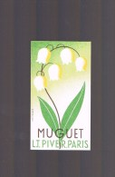 L.T.PIVER . Muguet . - Perfume Cards