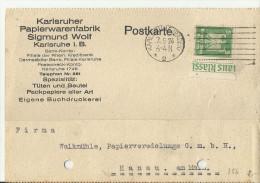 =DR GS 1924 Karlsruhe - Deutschland