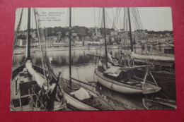 Cp Deauville Plage Fleurie Le Nouveau Bassin Des Yachts - Piroscafi