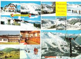 Österreich - 4 AK - Katschberg - Wintersportgebiet  - Rennweg - Österreich