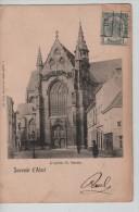 TP 53 Roulette Alost 1902 S/CP L'Eglise St.Martin D'Alost Nels Série 15 N°1 C.Alost En 1902 PR2267 - Prematasellados