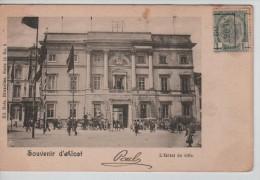 TP 53 Roulette Alost 1902 S/CP L'Hôtel De Ville D'Alost Nels Série 15 N°5 C.Alost En 1902 PR2268 - Prematasellados