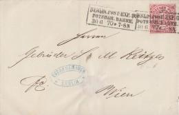 NDP Brief EF Minr.16 R3 Berlin Post-Exp.9 Potsdamer Bahnh. 30.6.70 Gel. Nach Wien - Norddeutscher Postbezirk
