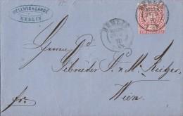 NDP Brief EF Minr.16 Berlin H.ST.PE  25.9.70 - Norddeutscher Postbezirk