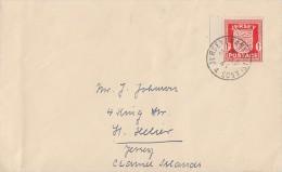 Jersey Brief EF Minr.2 - Besetzungen 1938-45