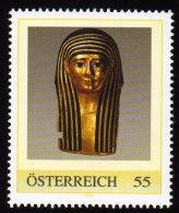 ÖSTERREICH 2009 ** Mumienmaske Ptolemäerzeit 3.-1.Jh.v.Chr. - PM Personalized Stamp MNH - Aegyptologie