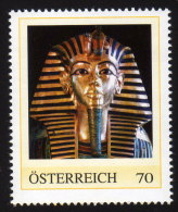 ÖSTERREICH 2012 ** Totenmaske Des Tutenchamun - PM Personalized Stamp MNH - Aegyptologie