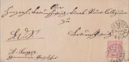 NDP Brief EF Minr.16 Nachv. Stempel Wolfenbüttel 21.3.1870 - Norddeutscher Postbezirk