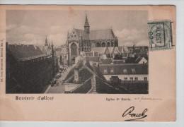 TP 53 Roulette Alost 1902 S/CP L'Eglise St.Martin D'Alost Nels Série 15 N°7c.Alost En 1902 PR2271 - Roller Precancels 1900-09