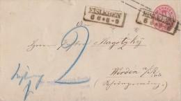 Preussen Ganzsachen-Umschlag 1 Sgr. R2 Eisleben 6.6. - Preussen