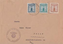 DR Dienstbrief Mif Minr.D157,D162,D163 Hämelnerwald - Dienstpost