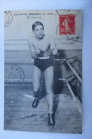 CPA BOXE CARPENTIER - Boxing