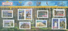 France - 2005 - Portraits De Regions (VI), Feuillet, Neuf**, Non Plie - Sheetlets