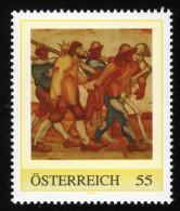 ÖSTERREICH 2008 ** Albin EGGER-LIENZ, Painter / Totentanz - PM Personalized Stamp MNH - Moderne