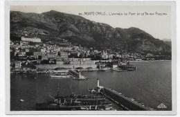 MONTE CARLO - N° 95 - L' ENTREE DU PORT ET LE TIR AUX PIGEONS - CARTE FORMAT CPA NON VOYAGEE - Harbor