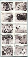 N° Yvert 1321 à 1330 - Bloc Timbres Des États-Unis (1981) - MNH - Faune Sauvage (JS) - Vereinigte Staaten