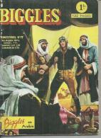 BIGGLES   N° 17   - AREDIT 1966 - Captain W. E. JOHNS - Biggles