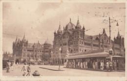 Victoria Terminus  G I P, Railway, Bombay, Mumbai - India