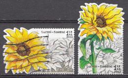 Finlande 2012  Mi.nr.:2187-2188 Sonnenblume  Oblitérés / Used / Gestempeld - Oblitérés