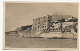 MONACO - N°  268 - MUSEE OCEANOGRAPHIQUE - CARTE FORMAT CPA NON VOYAGEE - Museo Oceanográfico