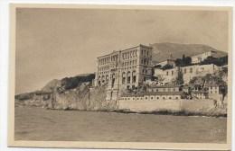 MONACO - N°  268 - MUSEE OCEANOGRAPHIQUE - CARTE FORMAT CPA NON VOYAGEE - Ozeanographisches Museum