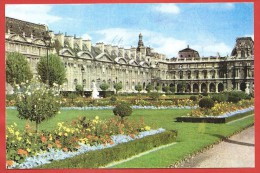 CARTOLINA VG FRANCIA - PUBBLICITARIA PHARMADON DOLPVC - Paris - Le Louvre - 10 X 15 - ANN. 1957 - Publicidad