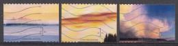 Finlande 2012  Mi.nr.:2184-2186 Wolken  Oblitérés / Used / Gestempeld - Oblitérés