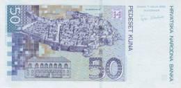 CROATIA P. 40 50 K 2002 UNC - Croatia