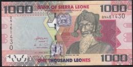 Sierra Leone 1000 Leone 2010 P30 UNC - Sierra Leone