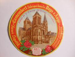 A-14251c - étiquette De Fromage - Camembert L´ABBAYE - CLEVILLE - Calvados 14-AJ - Fromage