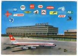 SWITZERLAND - AEROGARE DE GENEVE-COINTRIN / AIRPORT / AEROPORT / AEROPORTO / AVIATION - Aerodromi