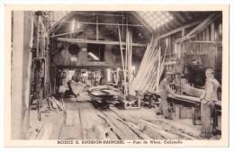 Callenelle - Scierie G. Bourdon-Hannesse - Pont De Wiers - édit. W. Soudan  + Verso - Belgium