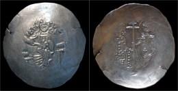 Manuel I Comnenus Electrum Aspron Trachy - Byzantine