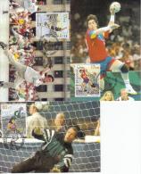 België, Maximumkaarten, Nr 2760/2762 (6623) - Hand-Ball