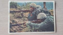 Italia 1942 Cartolina Postale Per Le Forze Armate Concentramento P.M.403.Usata Euro - 1900-44 Vittorio Emanuele III