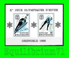BL10A** (242A/242B) - 10e JO D´hiver à Grenoble - RWANDA - Rwanda
