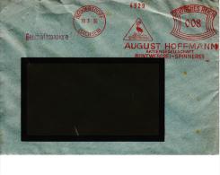 Deutsches Reich, Spreequell, August Hoffmann, Buntweberei-Spinnerei, Neugersdorf, 1936 (5893) - Textile