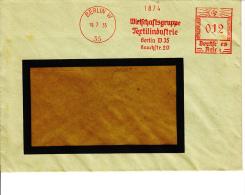 Deutsches Reich, Wirtschaftsgruppe Textilindustrie, Berlin, 1935 (5921) - Textile