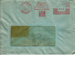 Deutsches Reich, Spinnereien Und Webereien Im Wiesental, Haagen, 1935 (5924) - Textile