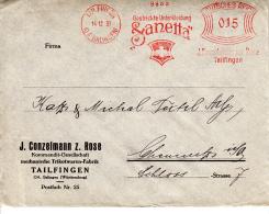 Deutsches Reich, Gestrickte Unterkleidung, Ganetta, Tailfingen, J. Conzelmann, Trikotwaren-Fabrik, 1931 (5933) - Textile